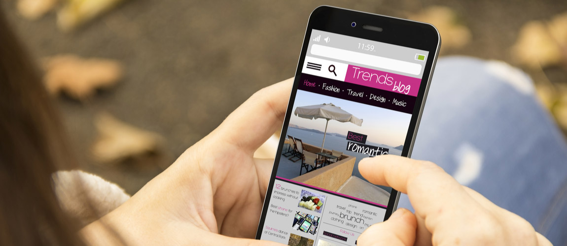Using mobile websites to find businesses