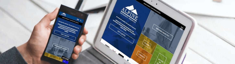 alpine insurance online marketing case study